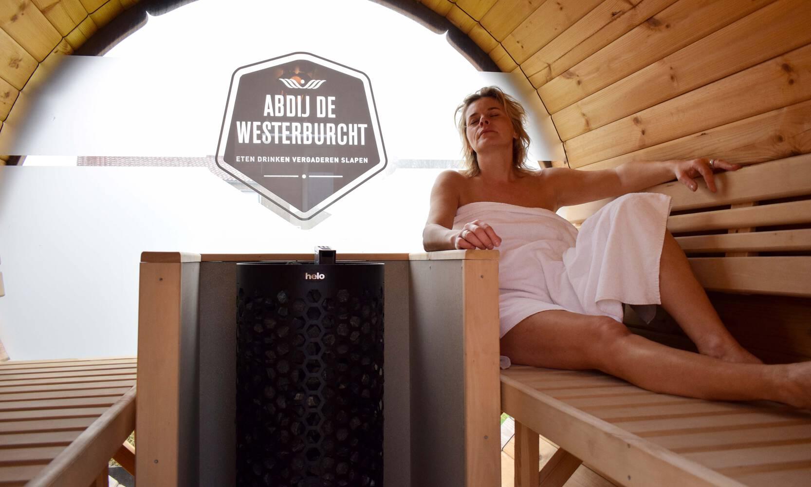 Sauna und Terrassenraum - Eine einzigartige Übernachtung