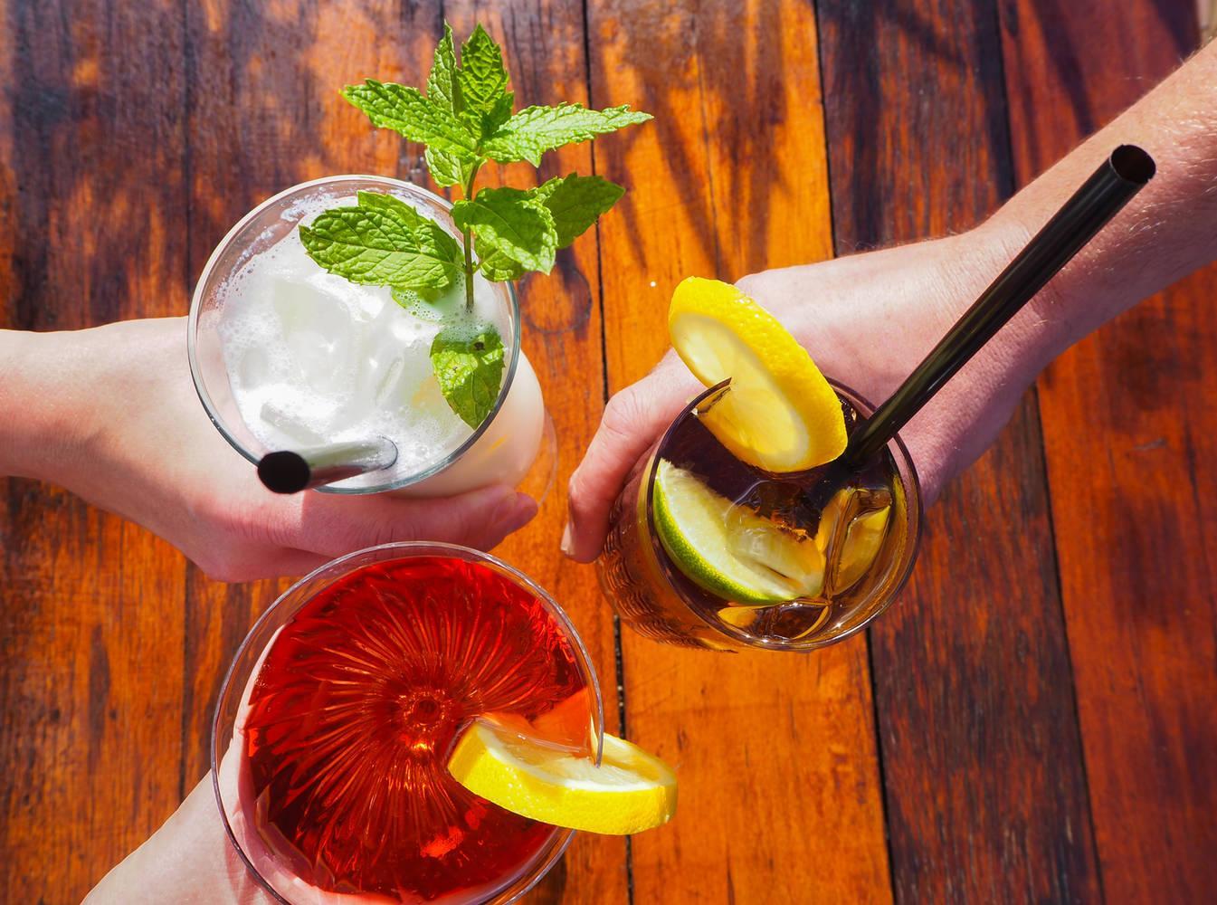 High Cocktail - genieße verschiedene Cocktails zusammen